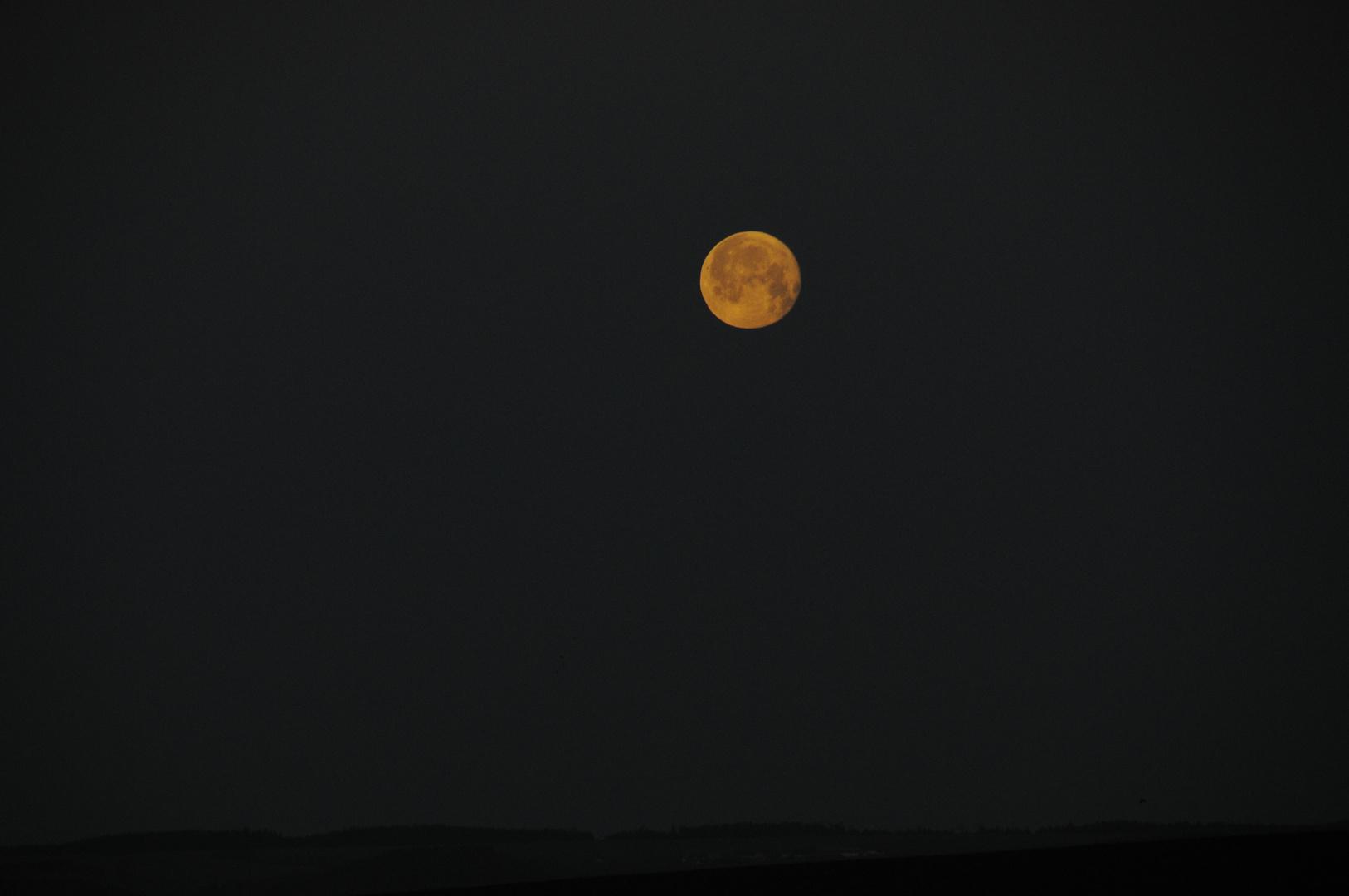 Mond über`m Vogtland