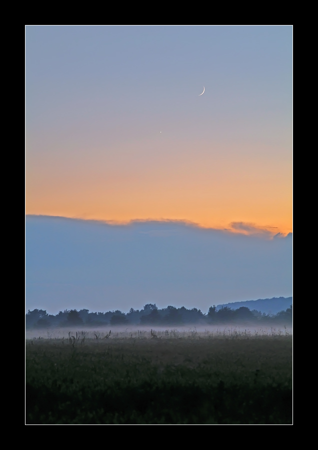 » Mond-Venus-Nebel «