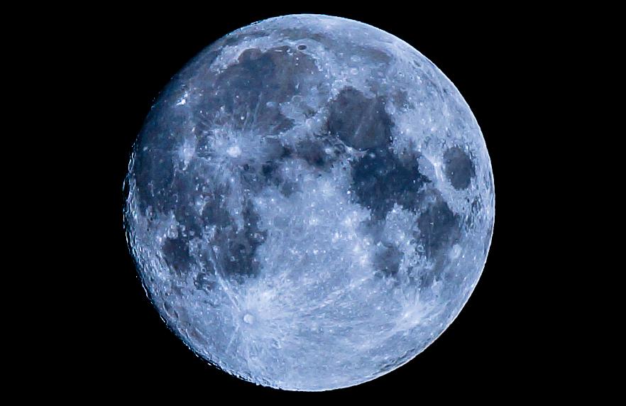 Mond vom 16.10.13