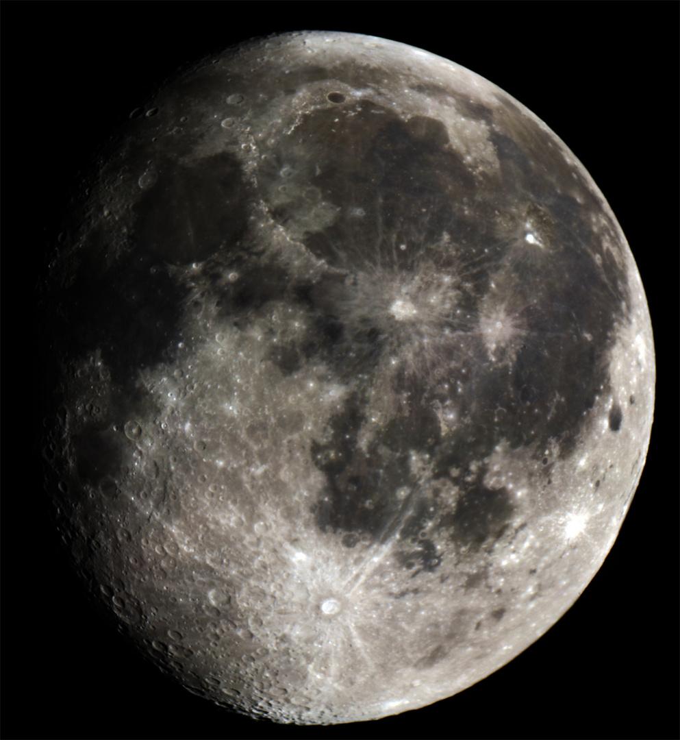 Mond vom 18.10.2010