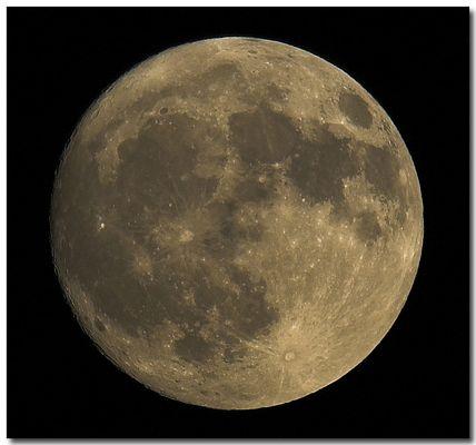 Mond von gestern