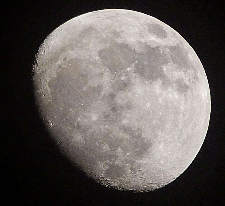 Mond, zunehmend