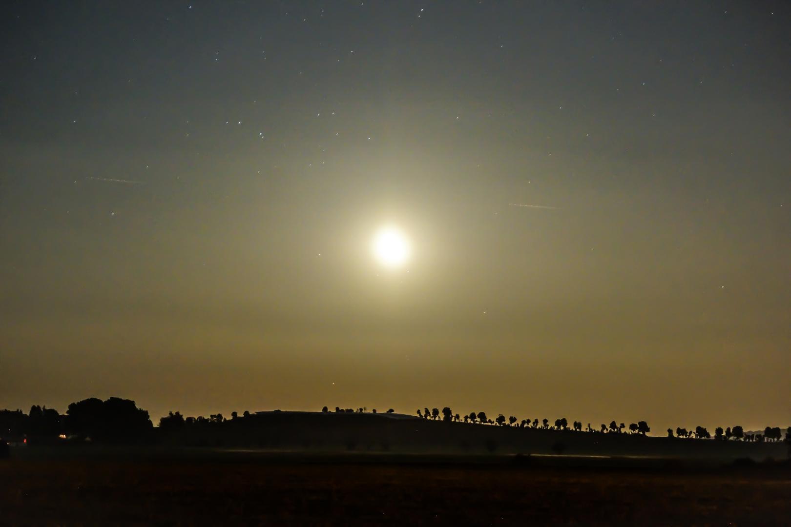 Mondaufgang am 24.09.13