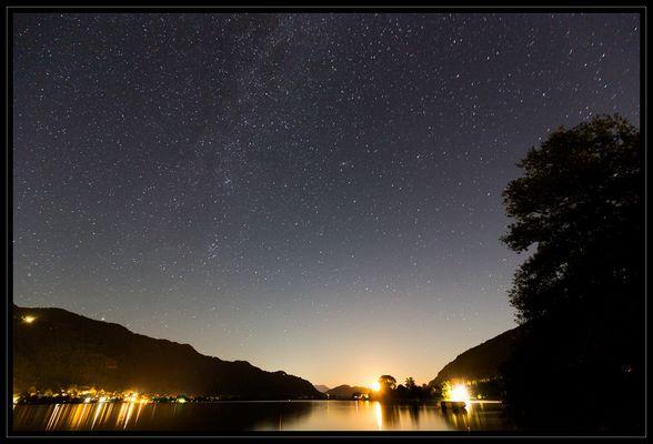 Mondaufgang am Ossiacher See