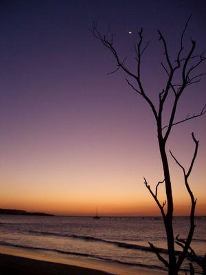 Mondaufgang Playa Tamarindo