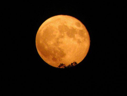 Mondaufgang über MeckPom