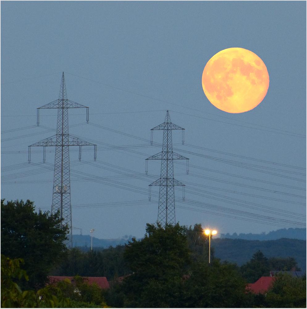 Mondaufgang verpasst