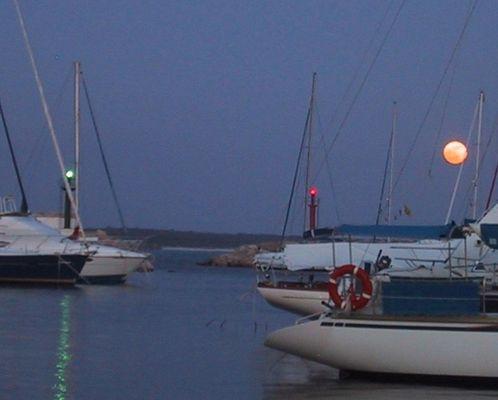 Mondaufgang vor Rapita