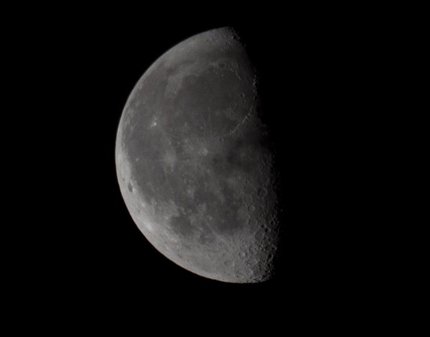 Mondaufnahme & Anfänger