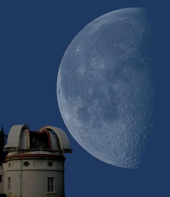 Mondbeobachtung (Hamburger Sternwarte)