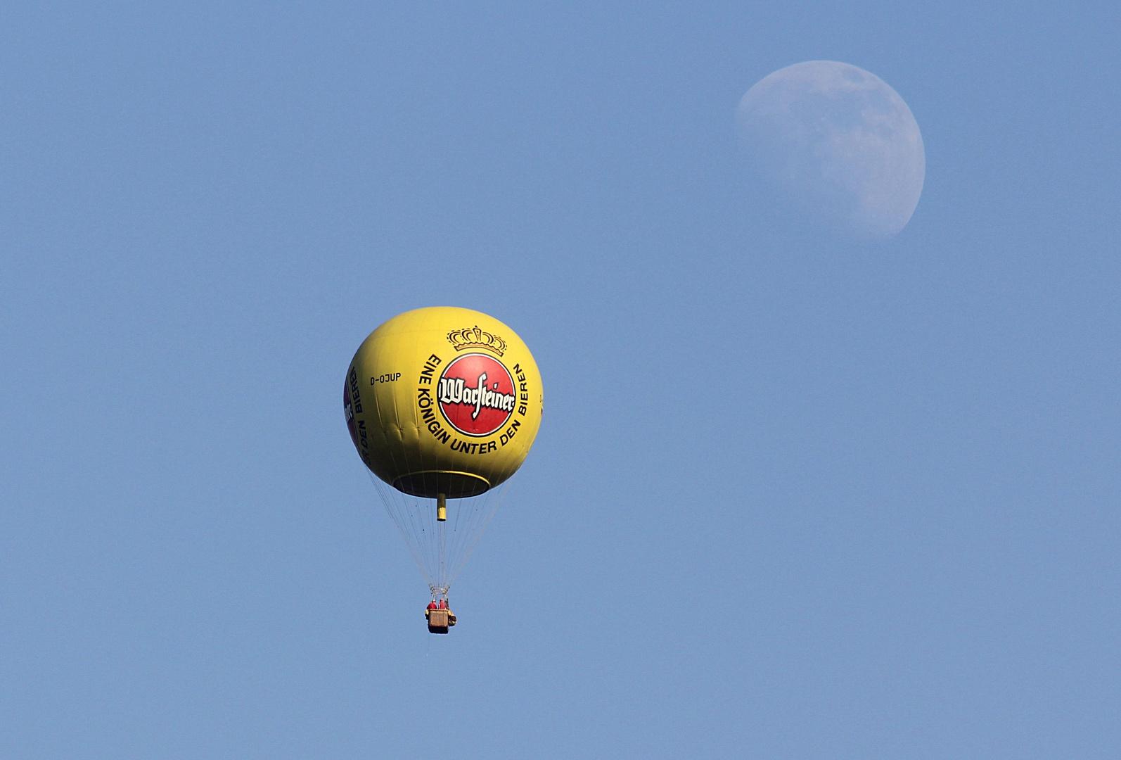 Mondfahrt am Pfingstmontag