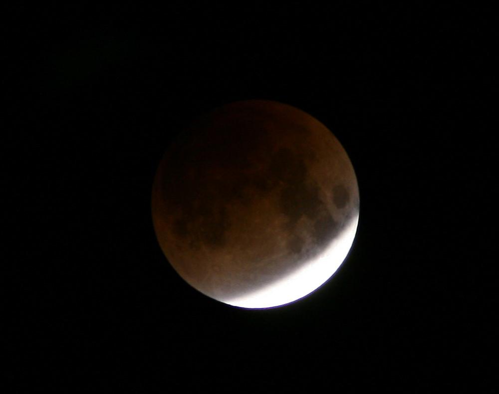Mondfinsternis #1 aufgenommen 3:47 Uhr
