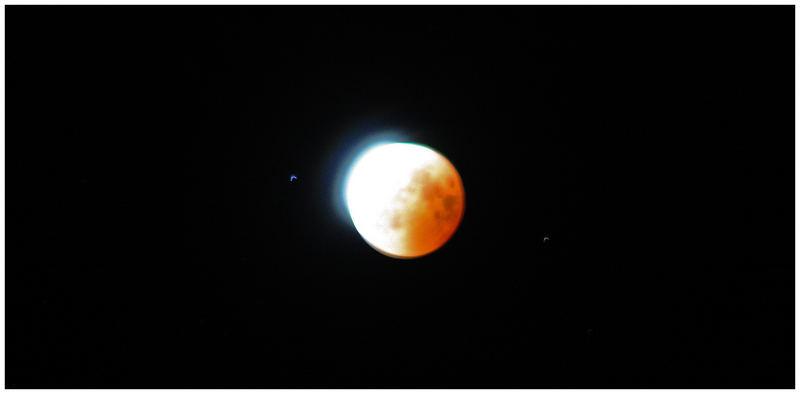 Mondfinsternis 1.08 uhr