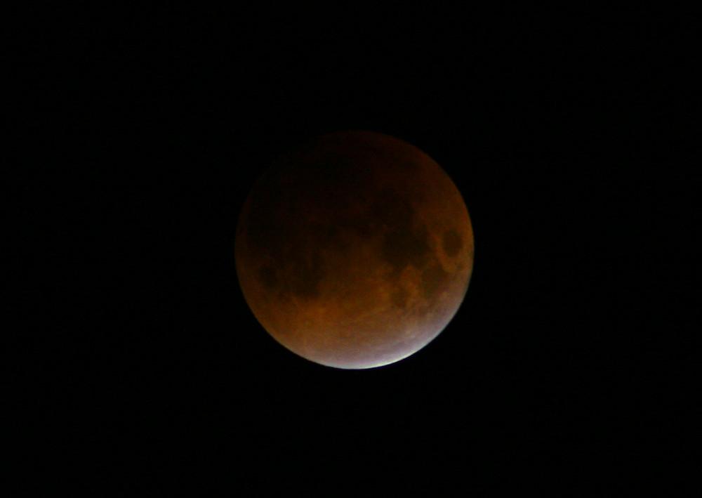 Mondfinsternis #2 aufgenommen 4:00 Uhr