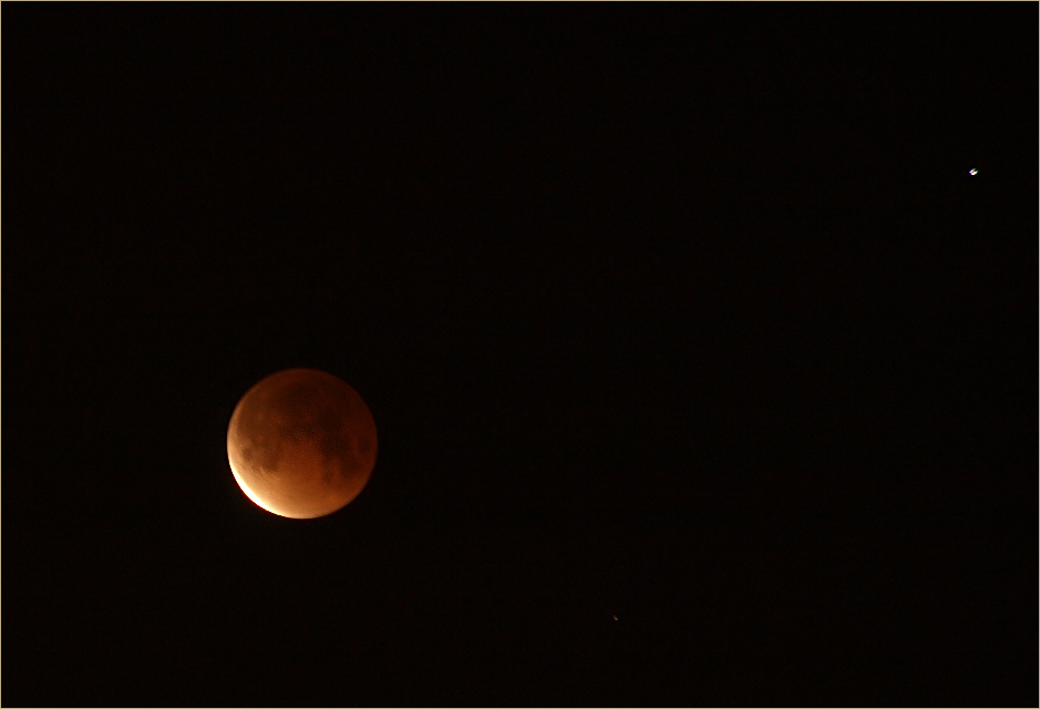 ...Mondfinsternis, 21.2.08 - 4.53 Uhr...