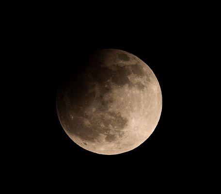 Mondfinsternis 25.04.13 22:07