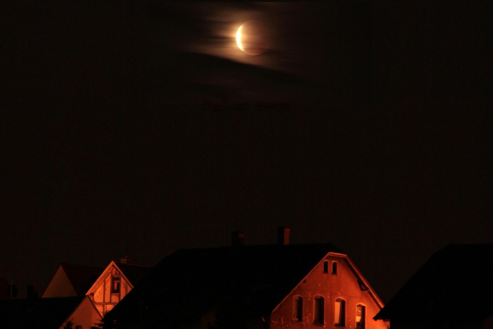 Mondfinsternis am 15. Juni 2011