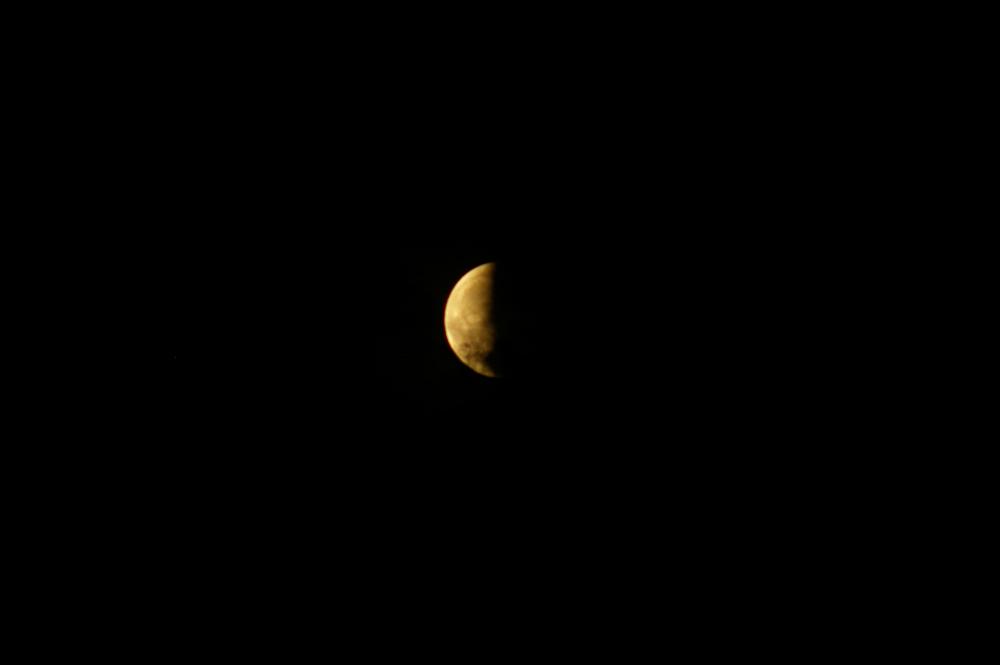 Mondfinsternis am 15.06.2011 Teil 2