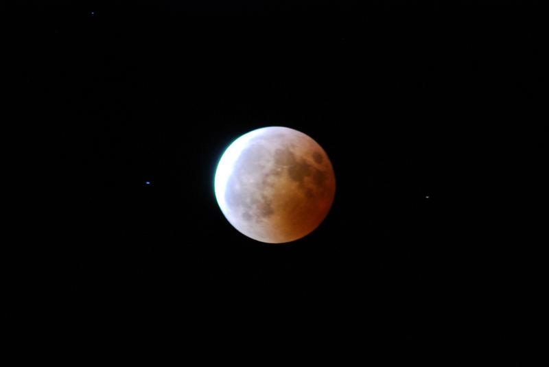 Mondfinsternis diesen Jahres