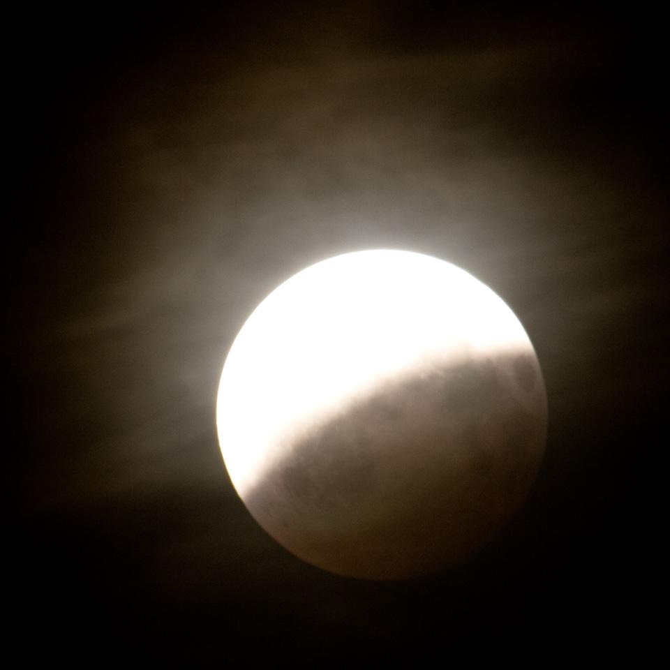 Mondfinsternis, partiell