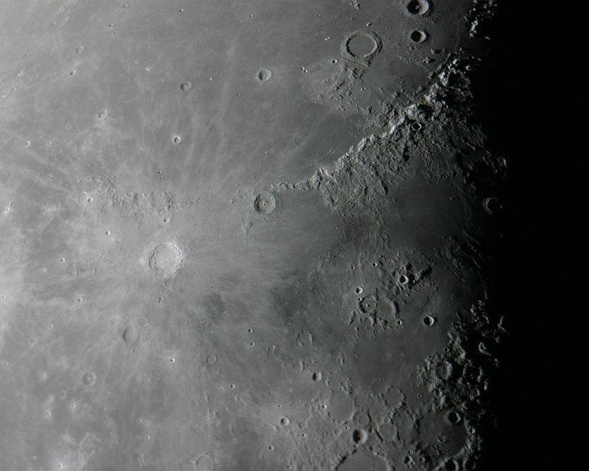 Mondlandschaft am 25.9.2005