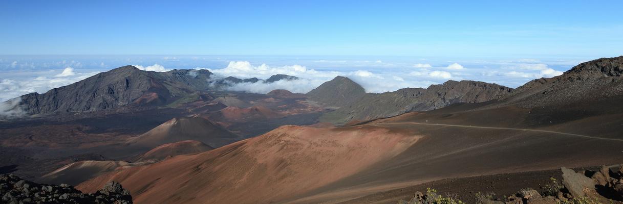 Mondlandschaft auf Hawaii