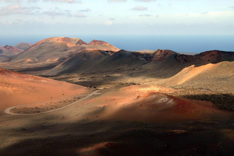 Mondlandschaft auf Lanzarote