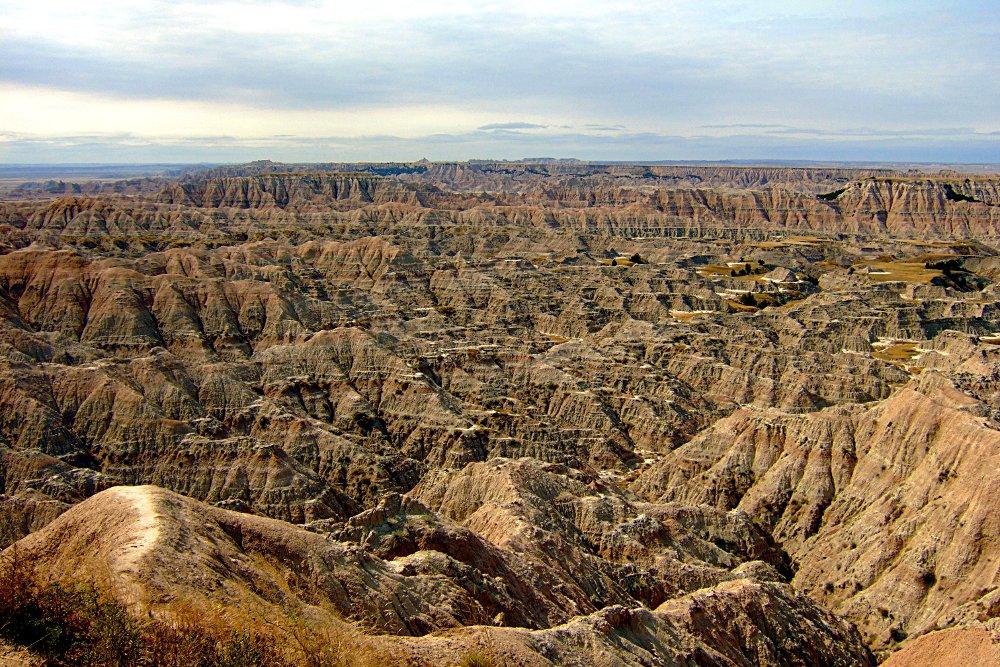 Mondlandschaft - Badlands N.P. South Dakota