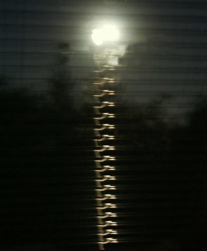 Mondlicht als Reißverschluss