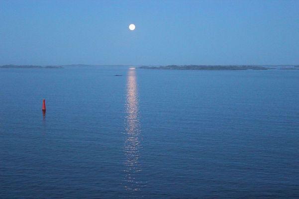 Mondlicht in den Schären