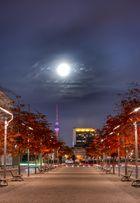 Mondschein über Berlin