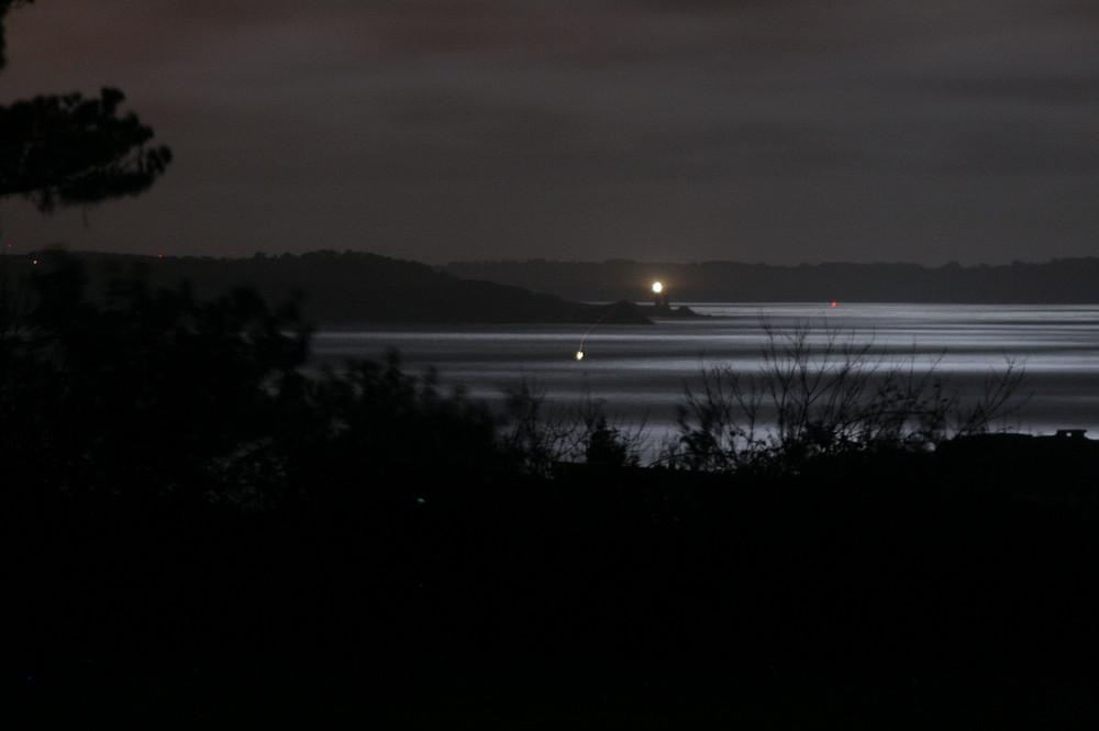 Mondschimmer über der Brester Bucht...