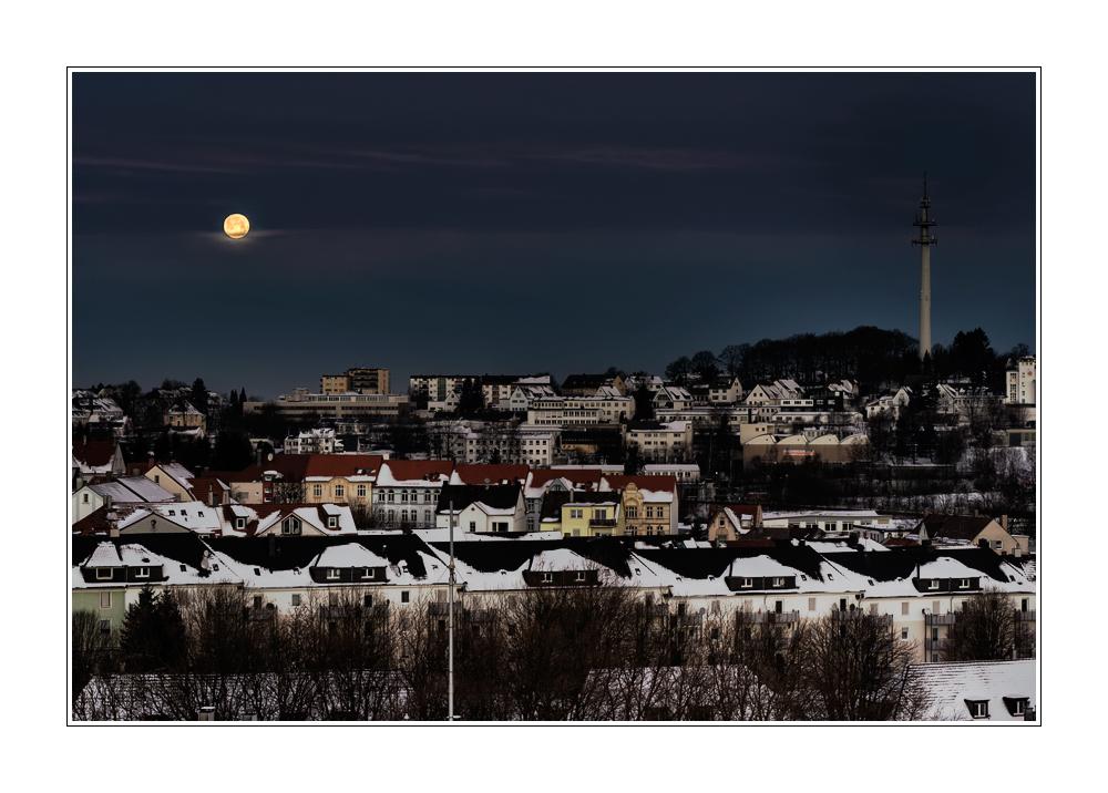 Monduntergang am 11.01.09: 08:54 Uhr
