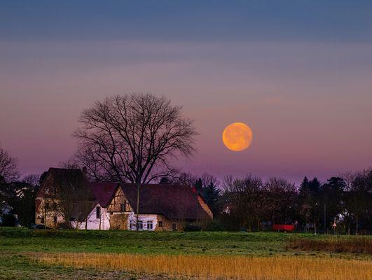 Monduntergang Binzenmühle