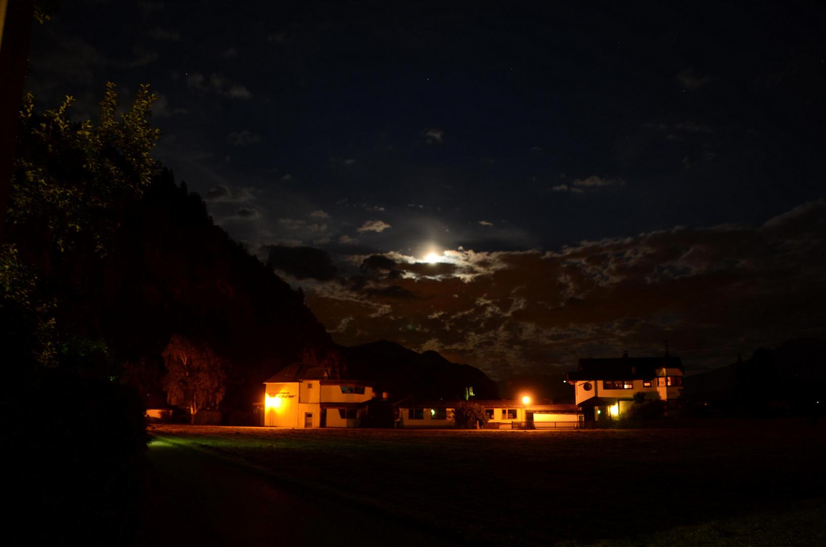 Mondzauber in Tirol