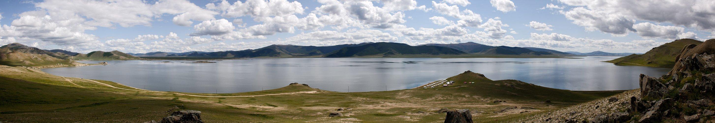 Mongolei-Weisser See