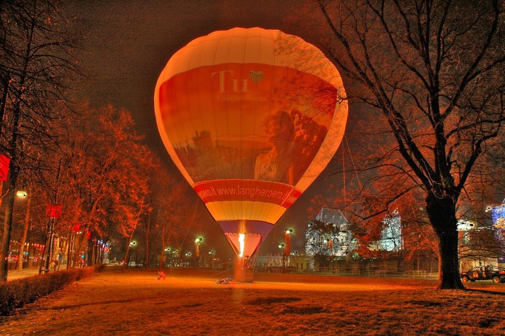 mongolfiera (olimpiadi invernali torino 2006)