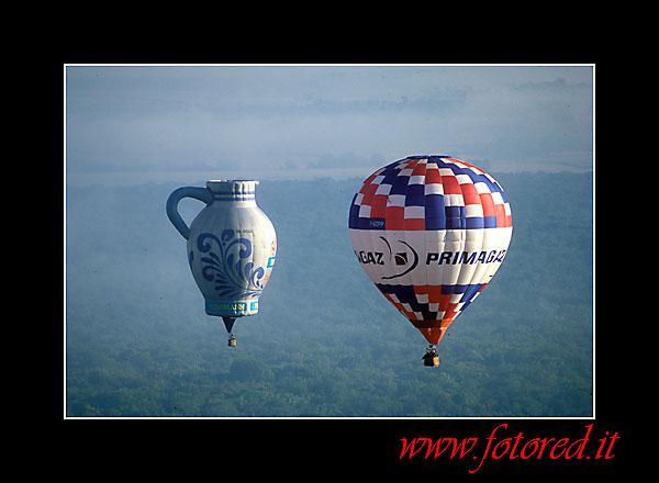 mongolfiere: hot air ballons: Ballons
