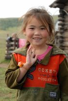 Mongolian lovely girl