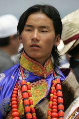 Mongolischer Tänzer