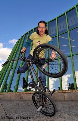 Monika Hinz BMX Flatland