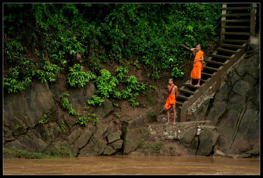 Monks III, Luang Prabang, Laos