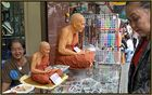 monks made of wax