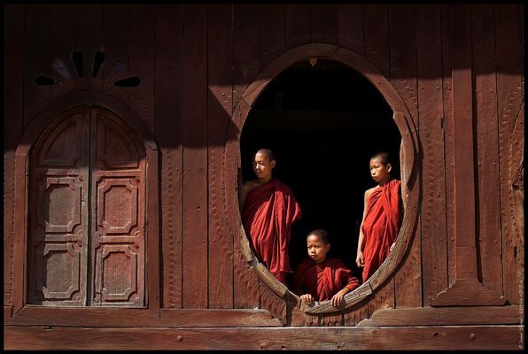 Monks of Shweyanpyay, Myanmar/Burma 2012