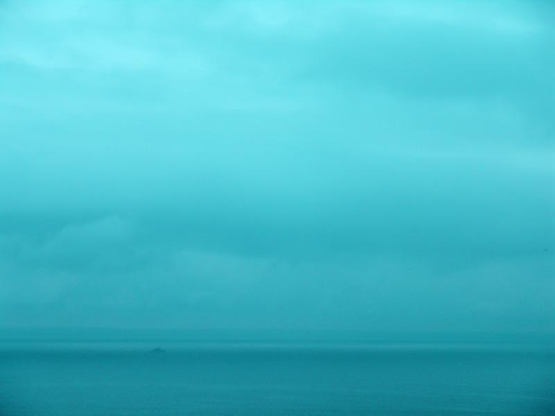 monochrome Abendstimmung, Bretagne