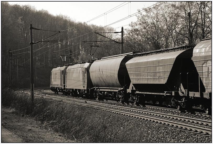 monochrome freight