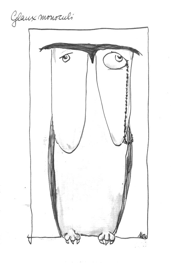 Monokel-Eule