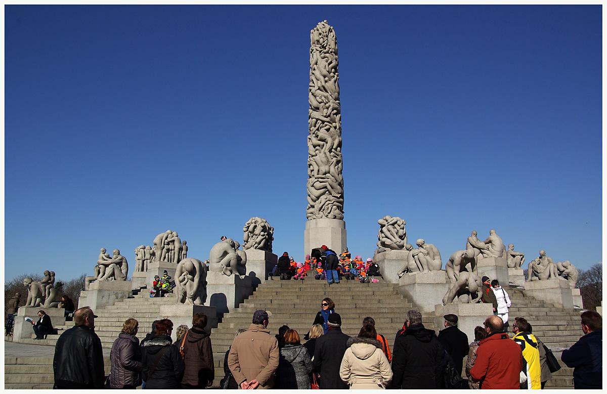 Monolith im Vigelandpark