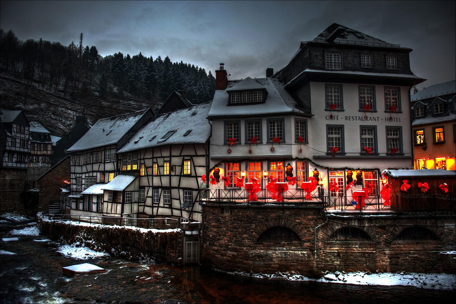 Monschau im Advent
