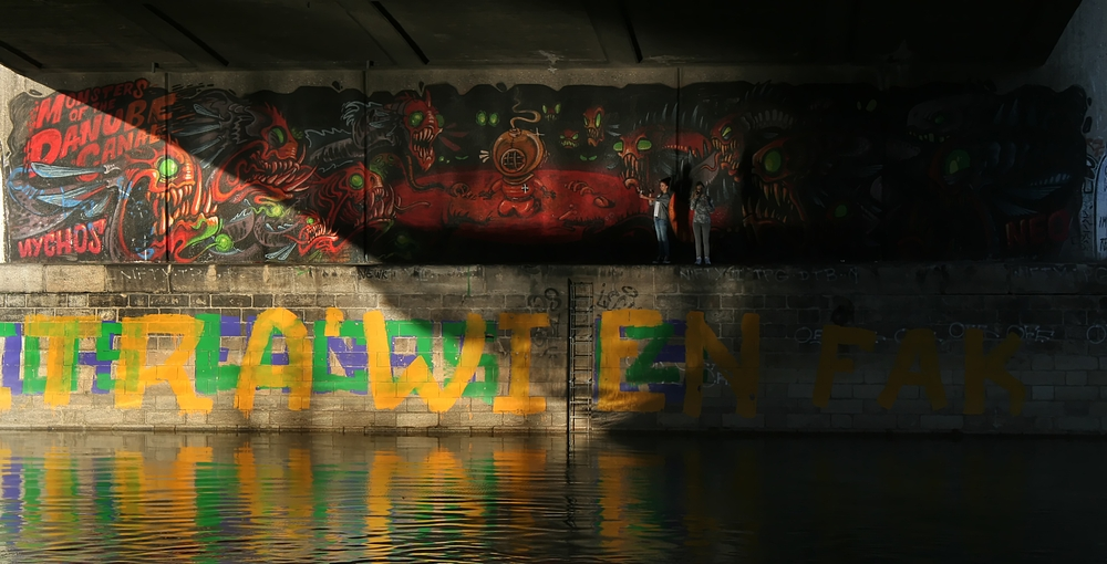 MONSTERS OF THE DANUBE CANAL